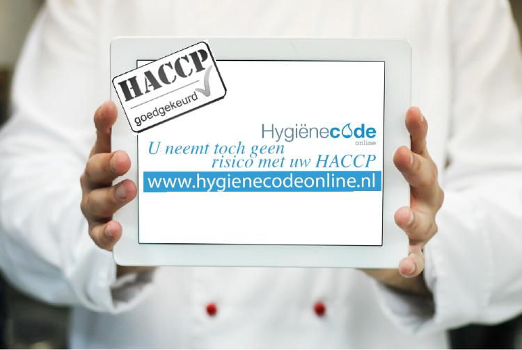 HACCP met Hygienecodeonline
